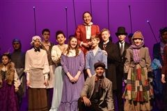 Upper Schoolers make magic in the musical 'Mary Poppins.'