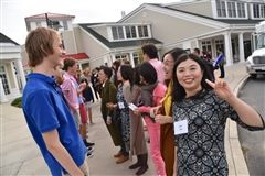 Ninth graders welcomed visiting Chinese educators