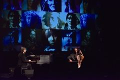 Peter Buffett with cellist Michael Kott