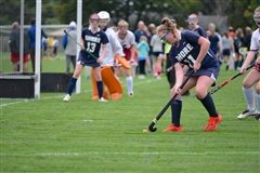 Varsity Field Hockey players were on the attack