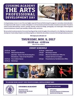 The Arts: Professional Development Day
