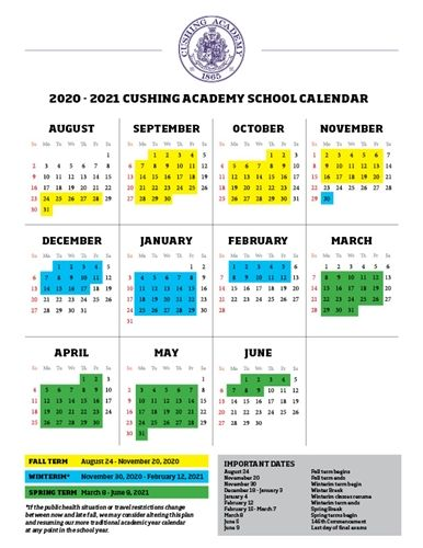 Download 2020-2021 Academic Calendar