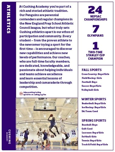 Athletic Program Affinity Card