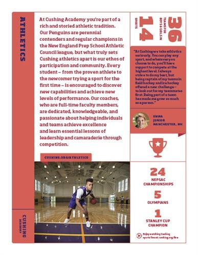 Athletic Program Info Sheet