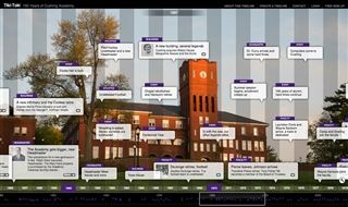 Cushing Academy Interactive Timeline