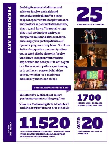 Performing Arts Affinity Card