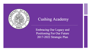 2017-2022 Strategic Plan: Embracing Our Legacy and Positioning For Our Future