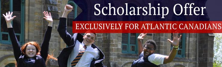 Atlantic Canadian Scholarship Offer