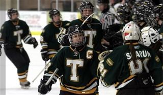 Former STU Tommies captain Kayla Blackmore is in her seventh year as varsity girls hockey coach at Rothesay Netherwood School, where she's also athletic director and a teacher at the prep school. Photo: Daily Gleaner archives