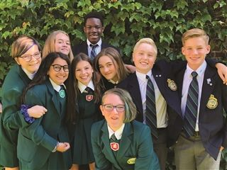 Grade 9 is a transition year for these RNS students heading into high school.