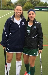 Kaylou Stoddard '16 and Katie Meyer '13