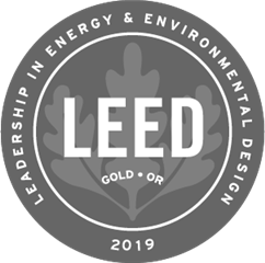 Our expansion is LEED Gold Certified! View our project scorecard.