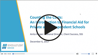 WEBINAR: Counting the Costs - Affording an Independent School Education