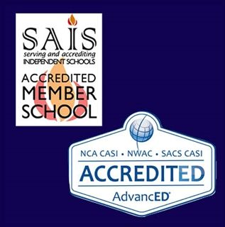 The private school is nationally accredited.