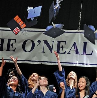 All high school graduates are accepted to colleges and universities across the nation.