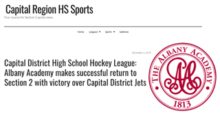 AA Hockey returns to Section II