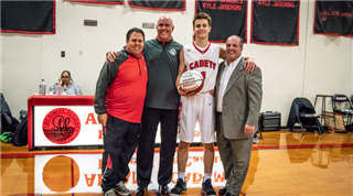 AA Athlete Eclipses 1,000 Points