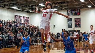 Andre J. '20 named #2 on the NewsChannel 13 Rensselaer Honda boys high school basketball all-star team