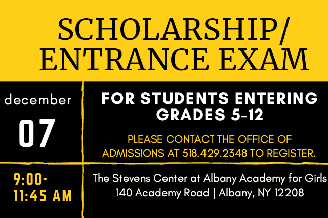 Scholarship/Entrance Exam