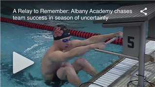 A Relay to Remember: Albany Academy chases team success in season of uncertainty