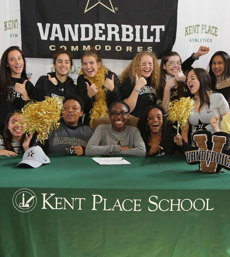 Kent Place Senior Signs Letter of Intent on National Signing Day