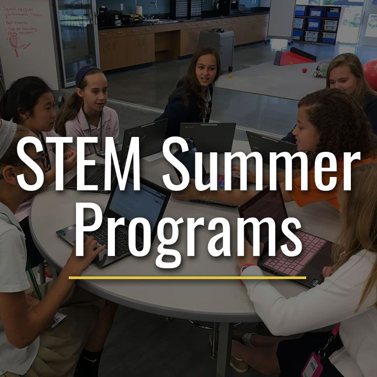 Programs from Alexa Cafe, Ethics in Action, and our Summer Academy STEM camps are available on campus this summer.
