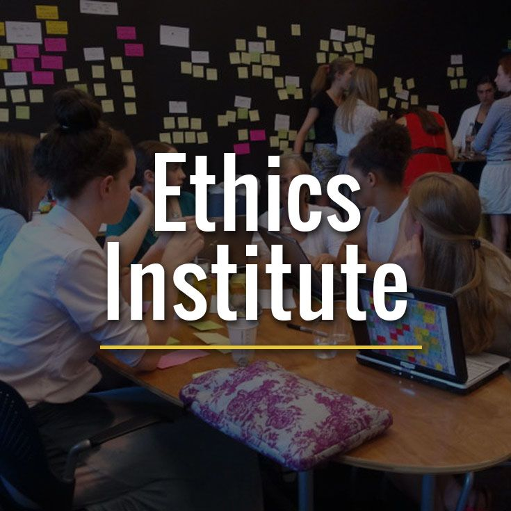 The Ethics Institute provides opportunities for ethical education to educators, parents, the greater community and students.
