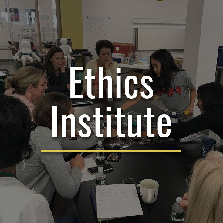 Join the Ethics Institute for two virtual programs this summer: Ethical Entrepreneurship (coed) & Ethical Leadership in the Arts (all-girls).