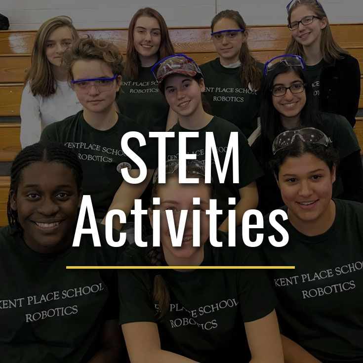 Students discover the joy and excitement of STEM through competition, all-school activities, national events and organizations.