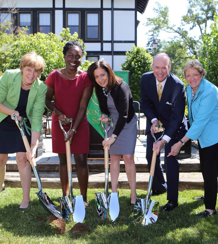 Kent Place Breaks Ground on Center for Innovation