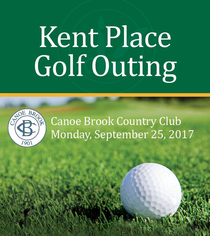 Join Us for Our Third Annual Kent Place Golf Outing