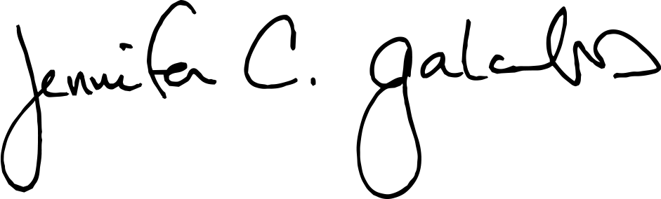 Jennifer Galambos Signature