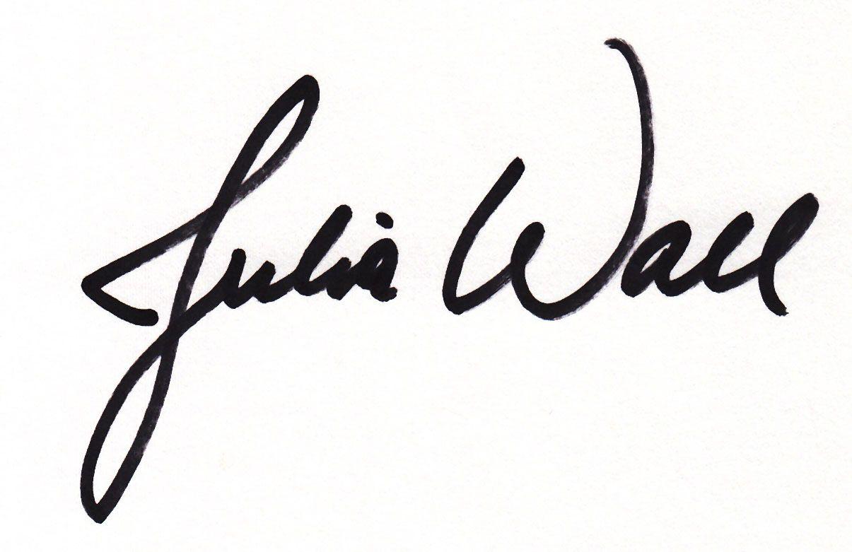 Julia Wall Signature
