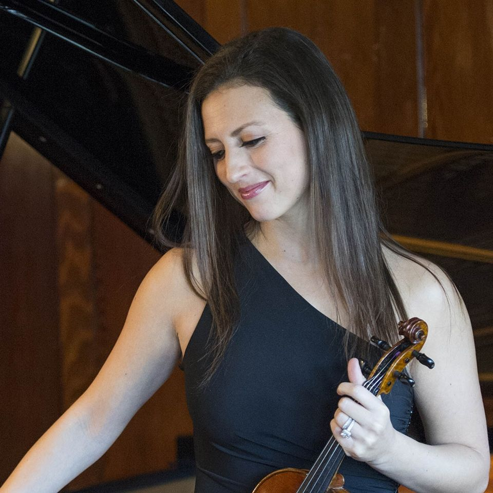 Harvard University '06, University of Maryland School of Music M.M. '10; founder, Jackson Hole Chamber Music, and principal violin, Inscape Chamber Orchestra