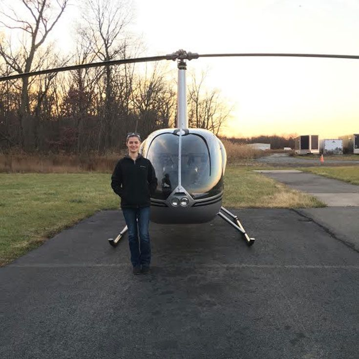 Case Western Reserve University '10 and pilot, Platinum Helicopters