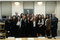 The Kent Place Mock Trial team.