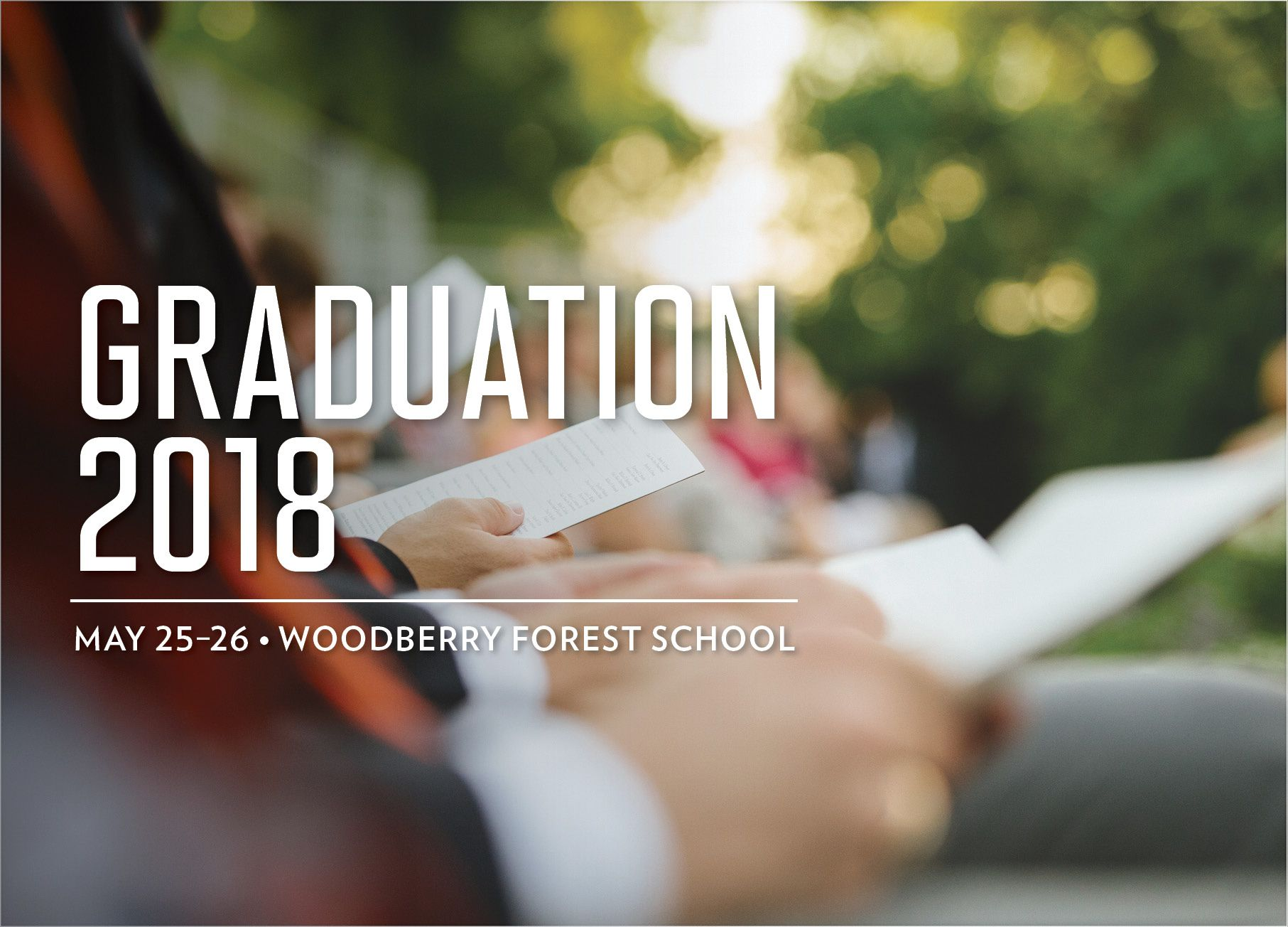 Graduation Reflection 2018