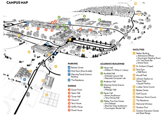 2017 Campus Map: Click to Enlarge