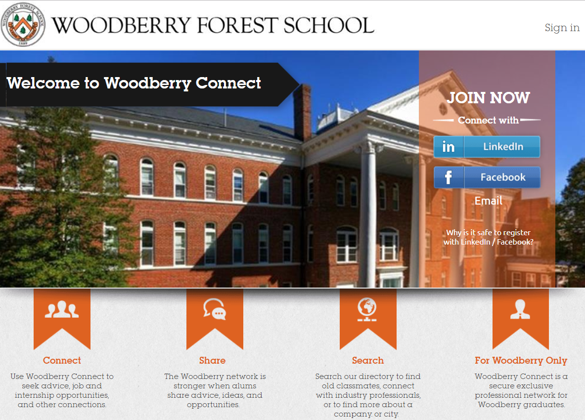 Click to Join Woodberry Connect