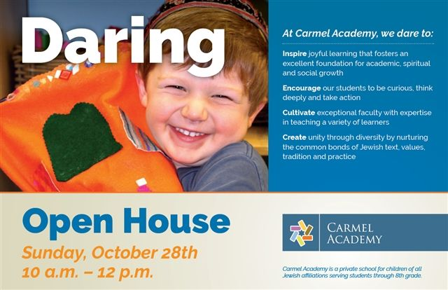 Click Here To Register For Our Open House