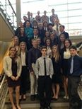 Photo from the DECA Area 3 Competition.