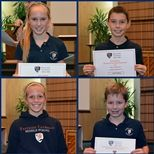 Sixth Grade Students of the Quarter