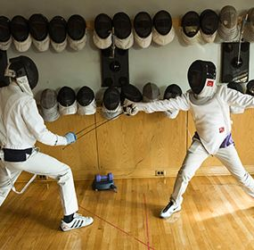 Fencing at St. B's