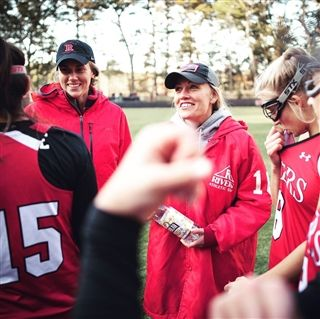 Field hockey coach Janna Anctil was named New England Region Coach of the Year and Massachusetts State Coach of the Year.