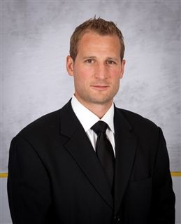 Newly named boys' hockey coach Freddy Meyer