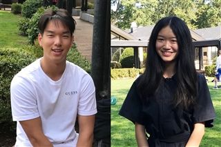 Elliot Do '21 and Celina Chen '22, as well as Avery Mattoon '22 and Jack Queler '21, participated in the summer program.