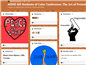 A portion of the Padlet displaying artwork by students in the