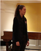 Maggie Monaghan at the Shakespeare competition