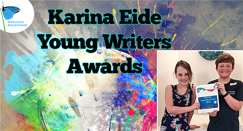 d756e0f1cbc0 Congratulations to This Year s Karina Eide Young Dyslexic Writer Award  Winners!