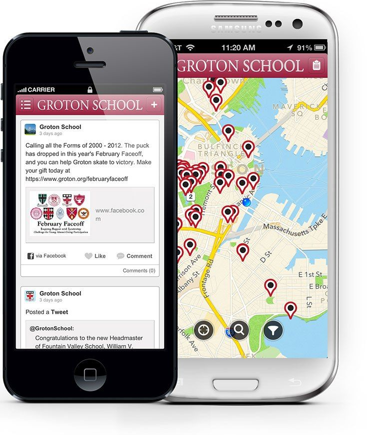 Download the Groton Alumni App!
